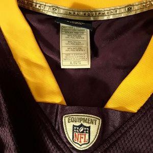 Reebok Shirts - Minnesota Vikings Rice #18 Reebok Jersey-Size XL